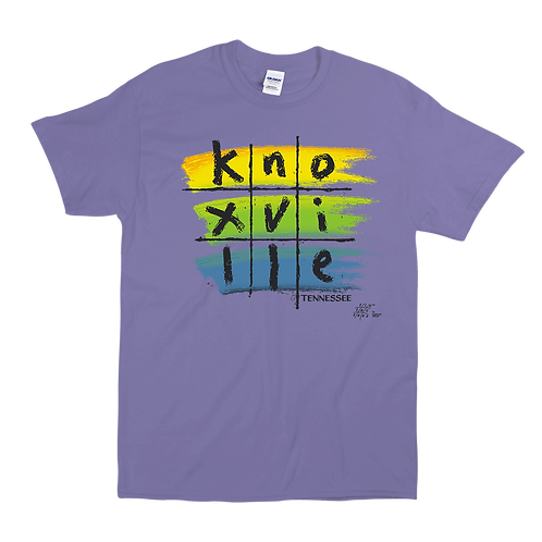 Knoxville Colors Tic-Tac Tee