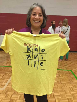 South Knoxville Tic-Tac Tee