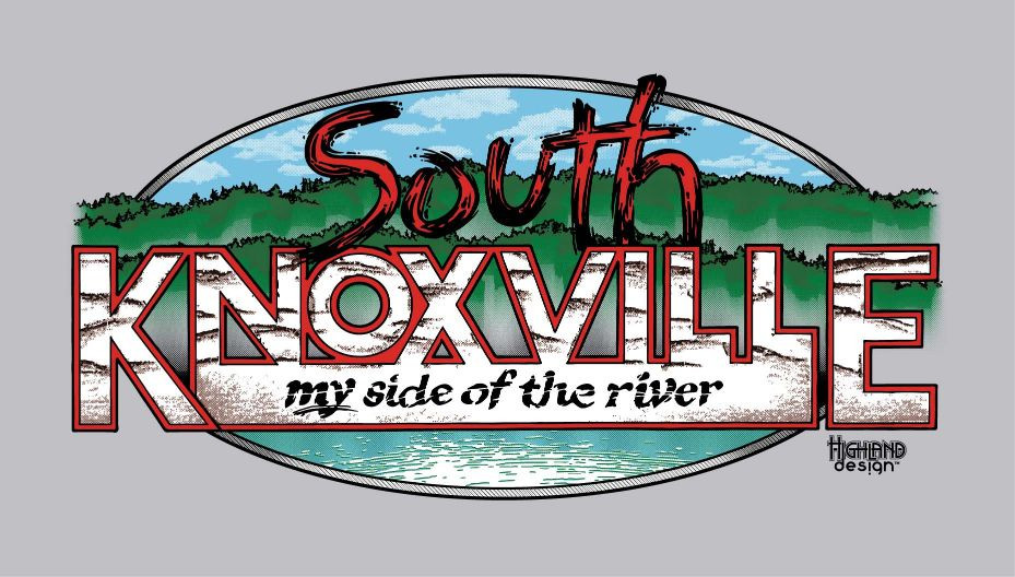 South Knoxville My Side of the River shirt design