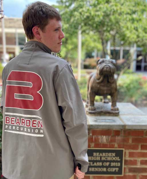 Bearden Percussion jacket
