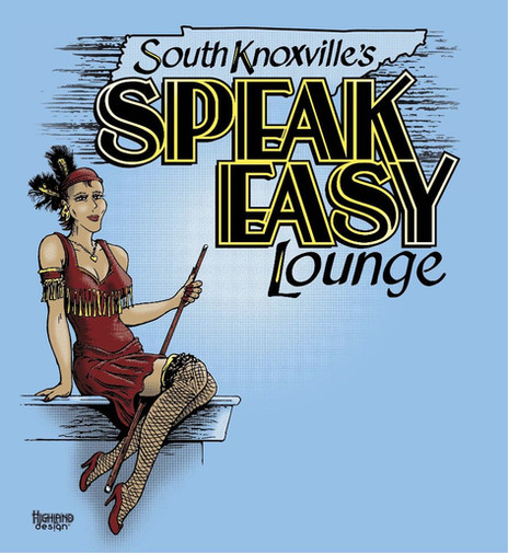 Speak Easy Lounge South Knoxville shirt design