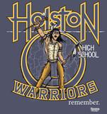 Holston High School Warriors remember shirt design