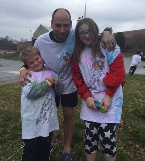 Mount Olive Color Run photo