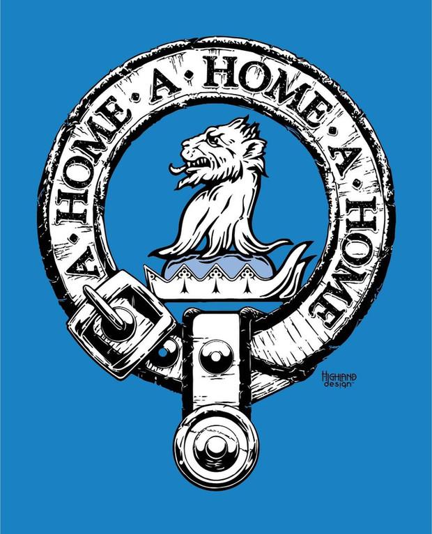 A Home Crest shirt design