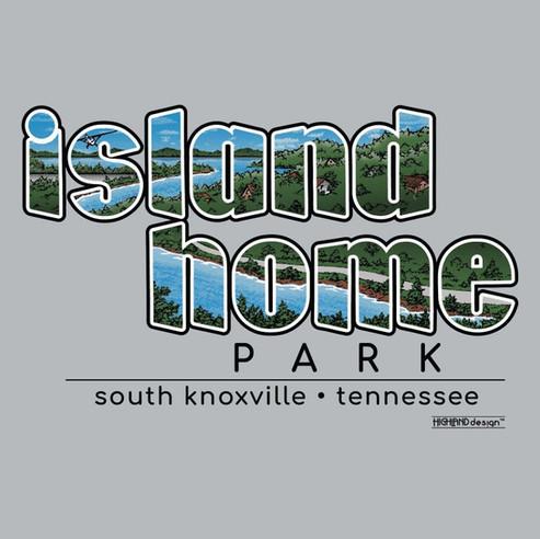 Island Home Park Knoxville TN shirt design