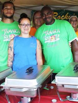 Jamaica Sunrise shirts group