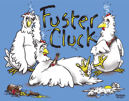 Fuster Cluck tee