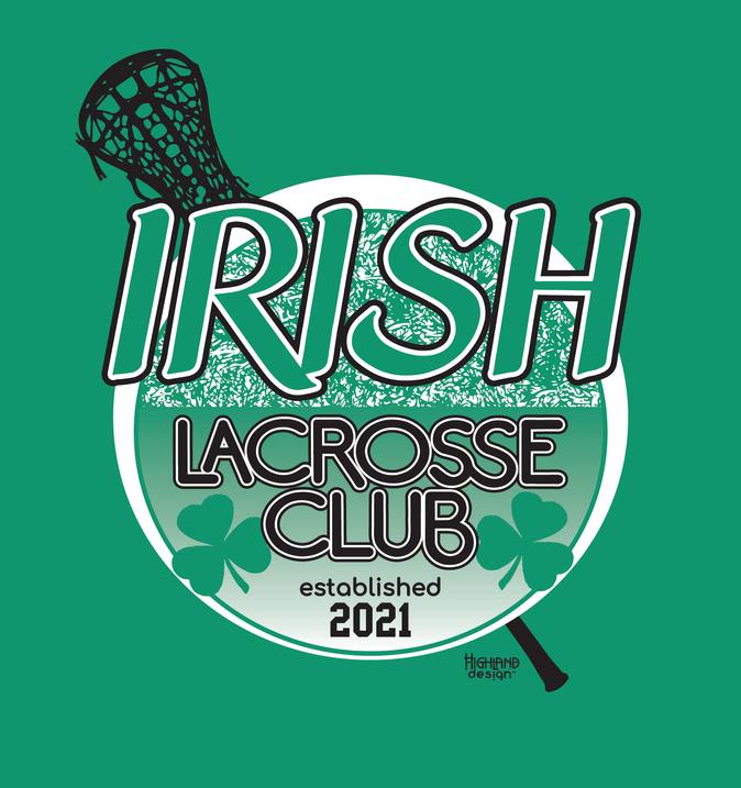 Irish Lacrosse Club 2021 tee Tshirt