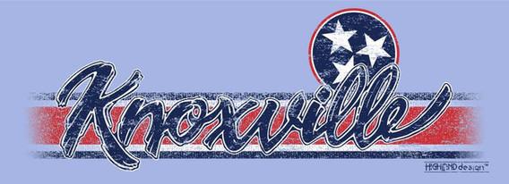 Knoxville Tri Star shirt design