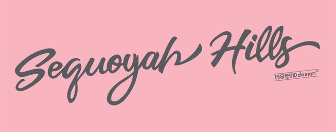 Sequoyah Hills Charity Pink shirt design