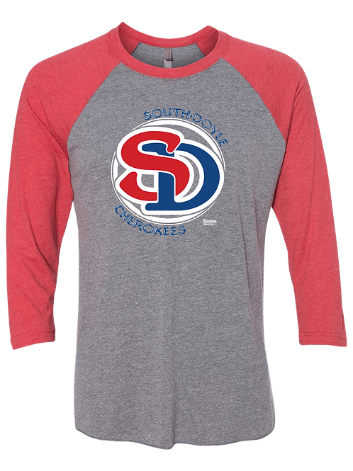 South Doyle Cherokees Baseball Tee