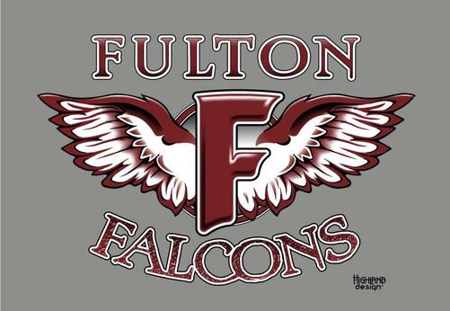 Fulton Falcons shirt design