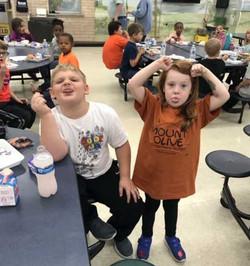 Mount Olive silly kids photo