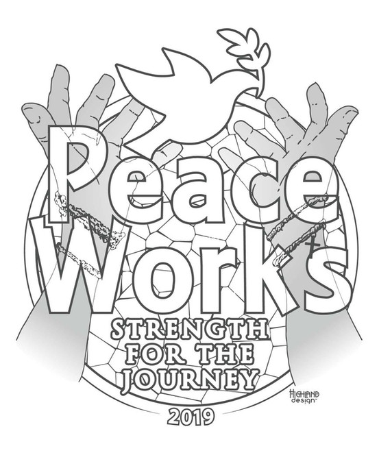 Peace Works Strength for the Journey 2019 shirt design
