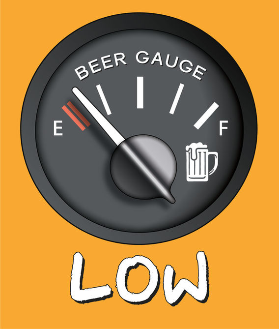 Beer Gauge getting low