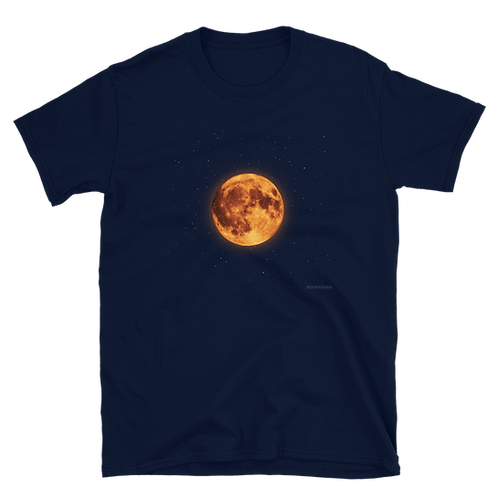 Orange Moon tee