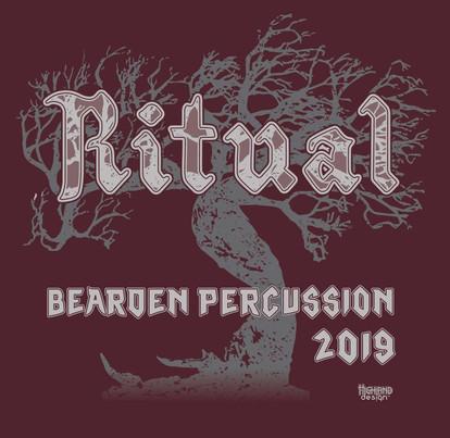 Ritual Beardon Percussion 2019 shirt design