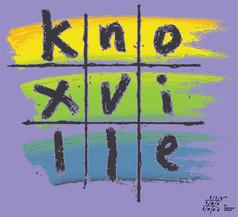 Knoxville Tic Tac Tee shirt design