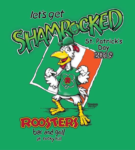 Shamrocked St. Patrick's Day 2019 shirt design
