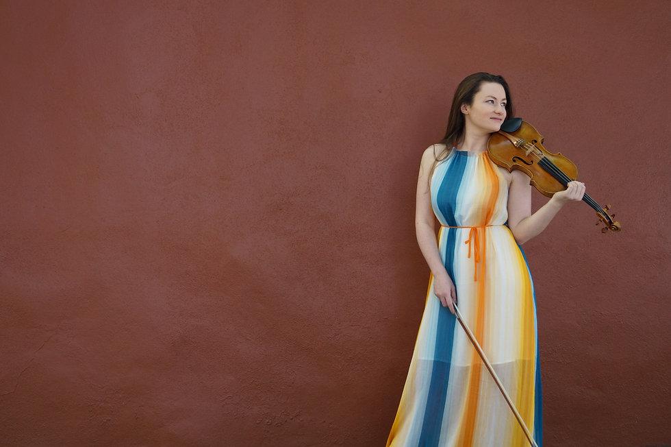 Laura Rickard, Violinist