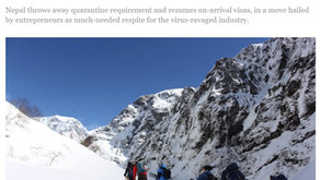 Nepal is open to tourists!