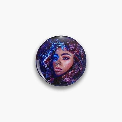 Nashira Button Pin