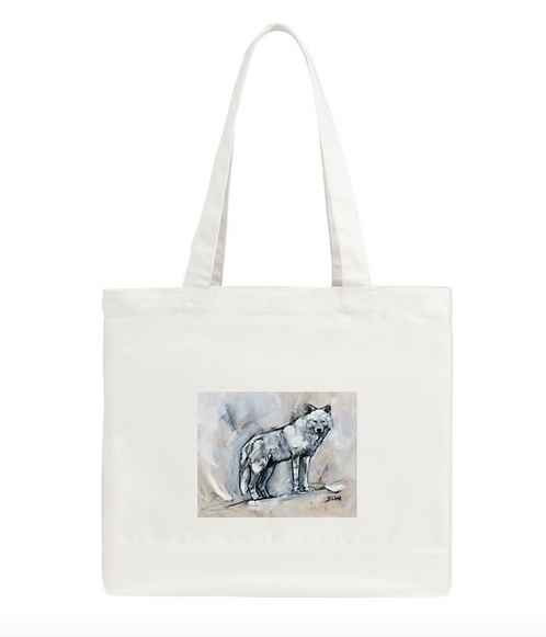 Sky Wolf Tote