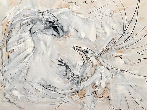 "The Dancers, 8""x10"" matte print"