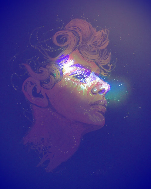 """Constellated Reality, 8""""x10"""" gloss print"""
