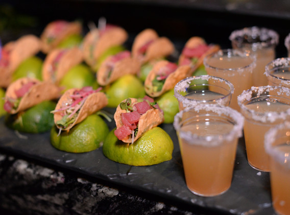Puff 'n Stuff Catering - Displayed Taco Hors D'oeuvres (PnS).JPG