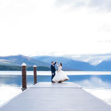 Honeybee Weddings 224Glacier National Park Wedding_Izaak W