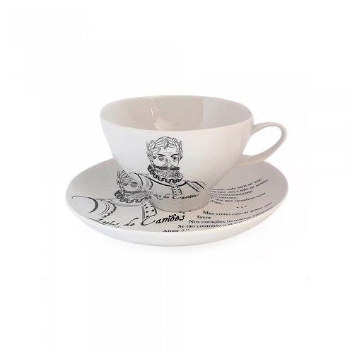 Caixa Gift 2 Chávenas Chá Coleção Autores