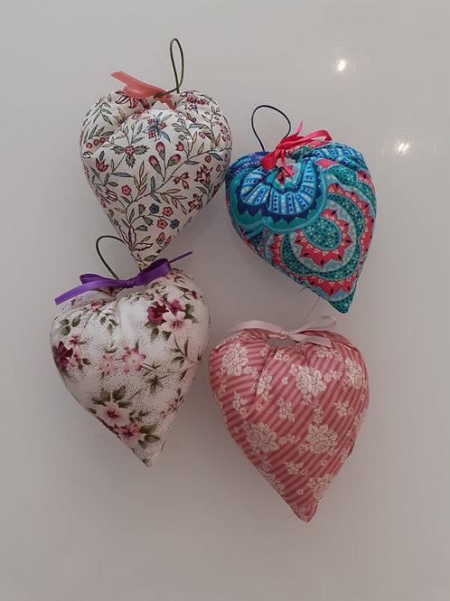 Corações com cheiro