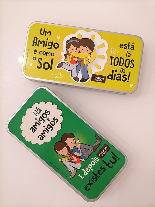 Latinha Tablete de Chocolate 100g