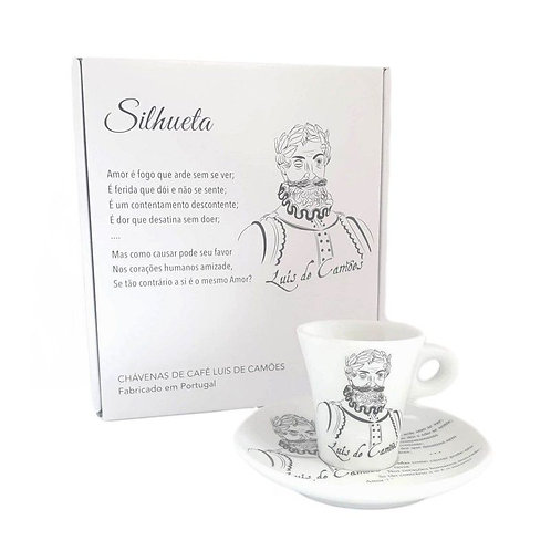 Caixa Gift 2 Chávenas Café Coleção Autores