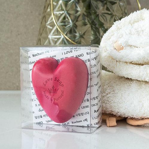Sabonete Amor Caixa Transparente
