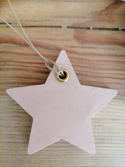 Estrelas Coloridas Cerâmica Perfumada