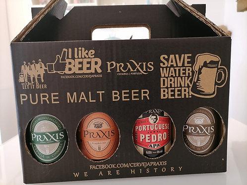 Cerveja Praxis Pack 8 Diversas Variedades