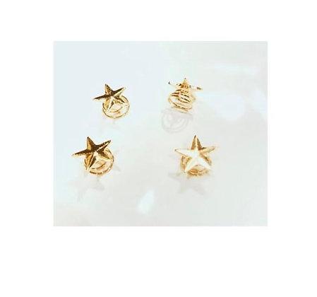 Sprinkle Star Hairpins 5 per set