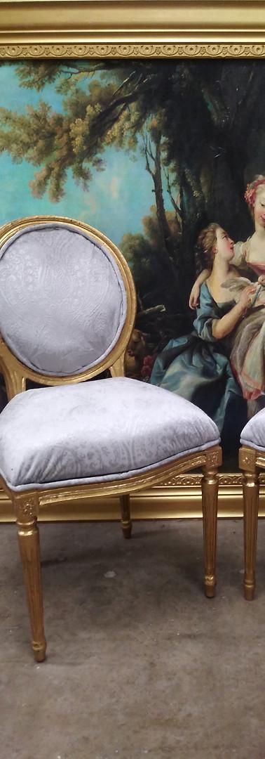 Marie Antoinette Uphostery
