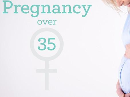 الحمل بعد سن 35 عام