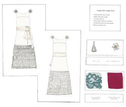 Flapper Dress Flat