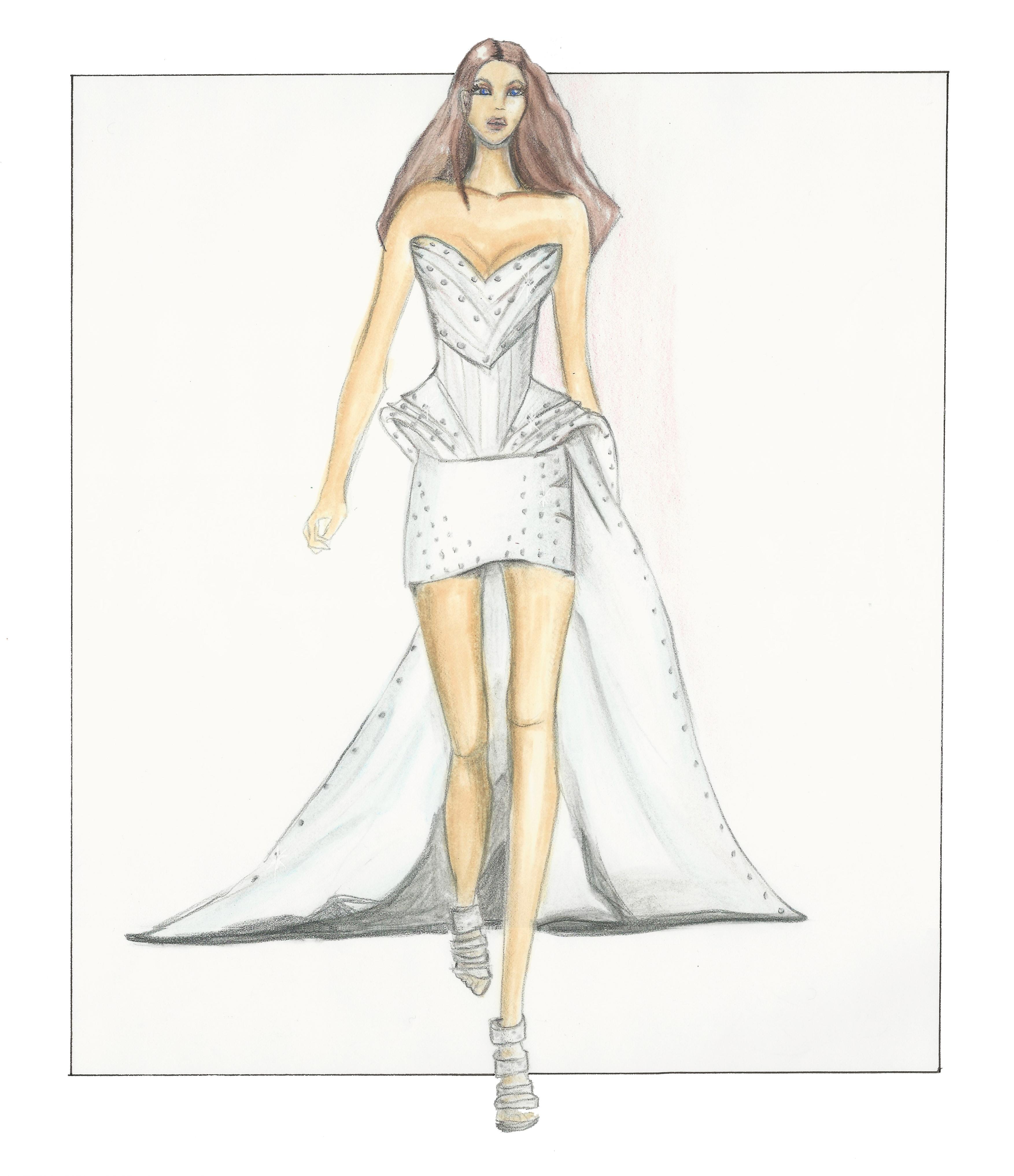 Mini Dress Sketch