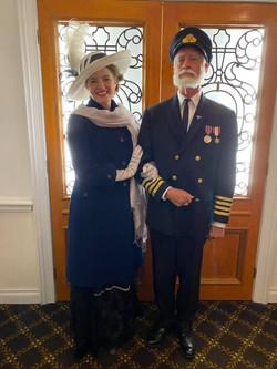 Dorothy Gibson & Capt. Smith