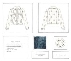 Starry Jean Jacket
