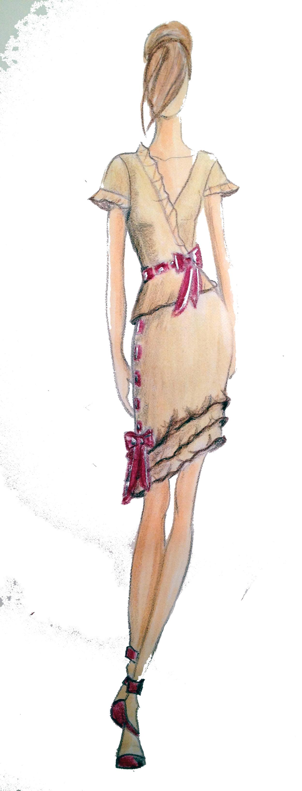 Renee Blouse Skirt