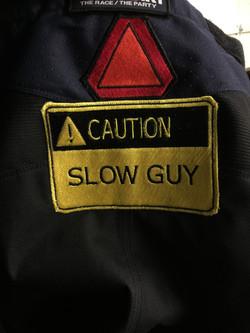 Caution Patch