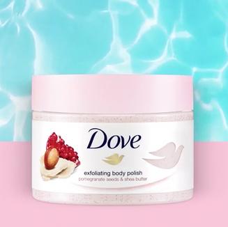 Dove Body Polish Launch
