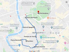 Rome itinéraire