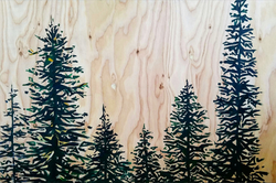 Wooded Pine